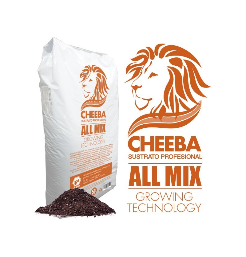 SUSTRATO PROFESIONAL CHEEBA - ALL MIX 50L