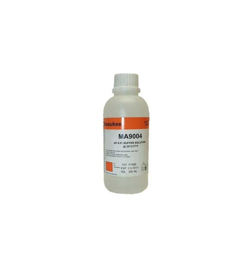 LIQUIDO CALIBRAR PH MILWAUKEE 4.01 230ml