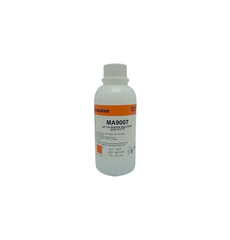 LIQUIDO CALIBRAR PH MILWAUKEE 7.01 230ml