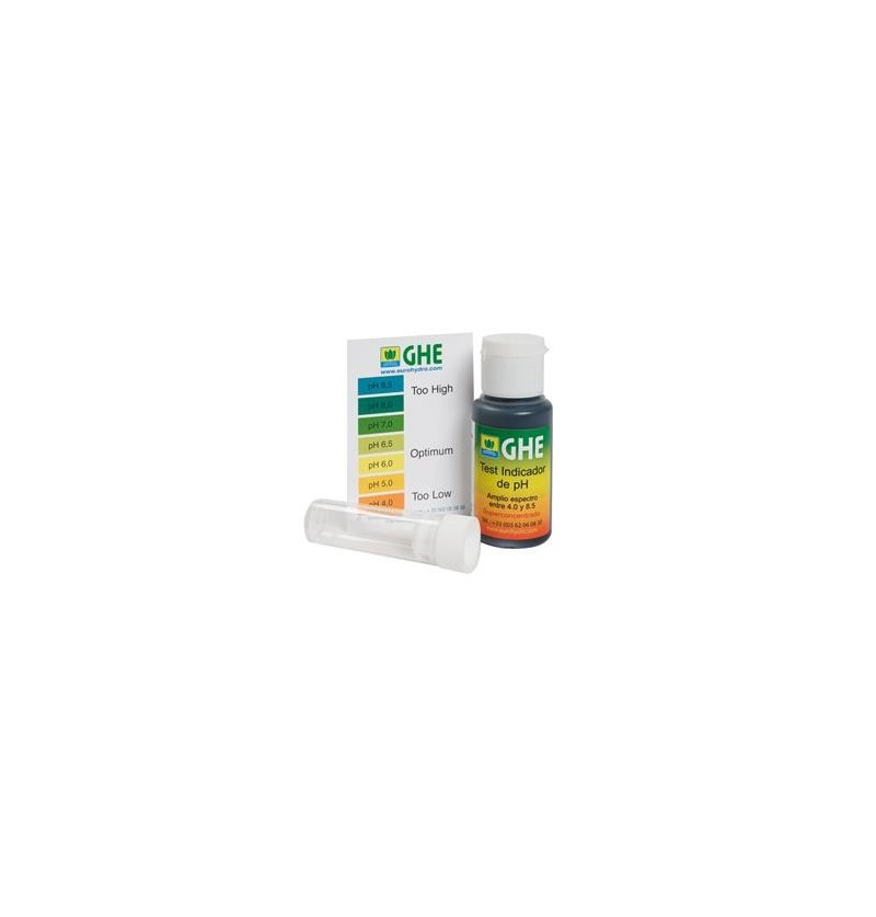 PH TEST KIT 30ml GENERAL HYDROPONICS