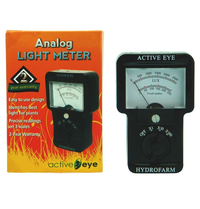 LUXOMETRO ANALOGICO ACTIVE EYE